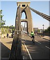ST5673 : Chains, Clifton Suspension Bridge by Derek Harper