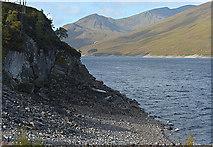 NH2231 : Looking up Loch Mullardoch by Nigel Brown