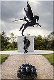 SK1814 : National Memorial Arboretum - Parachute Regiment and Airborne Forces Memorial by Mike Searle