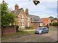 SK7284 : Former village school and school house, Hayton by Alan Murray-Rust