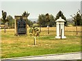 SK1814 : National Memorial Arboretum, Royal & Sun Alliance Memorials by David Dixon