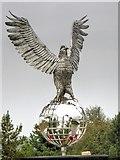 SK1814 : Winston, RAFA Remembrance Garden by David Dixon
