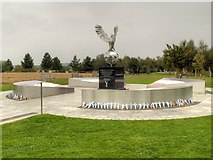 SK1814 : RAFA Remembrance Garden, National Memorial Arboretum by David Dixon