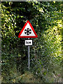 TL7446 : Roadsign on Clare Road by Adrian Cable