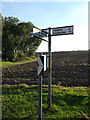 TL7546 : Roadsign on Clare Road by Adrian Cable