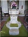 SP3211 : Minster Lovell - St Kenelm - Font by Rob Farrow