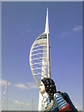 SZ6299 : Spinnaker Tower, Portsmouth by Peter S