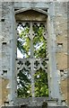 SP3211 : Minster Lovell - Window in Northwest Building  by Rob Farrow
