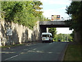 SP0266 : B4504 runs under Birchfield Road, between Headless Cross and Webheath, Redditch by Robin Stott