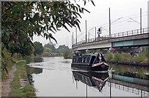 SJ8196 : Bridgewater Canal and Emma B by Glyn Baker