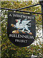 SK3898 : The Wentworth Millennium Project by Ian S