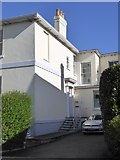 SX9392 : Side view of house in Baring Crescent, Exeter by David Smith