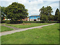 SP0366 : Open space in the angle of Rectory and Birchfield Roads, Headless Cross, Redditch by Robin Stott