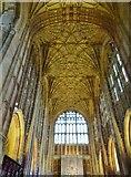 ST6316 : The splendour that is Sherborne Abbey, Dorset by Derek Voller