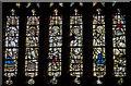 SO7745 : Detail, Great East Window, Great Malvern Priory by J.Hannan-Briggs