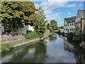 TL3212 : River Lea, Hertford by Christine Matthews