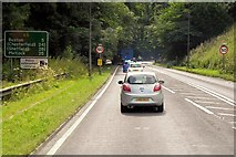 SK0780 : A6, Buxton Road, Barmoor Clough by David Dixon