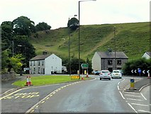 SK0779 : A6/A623 Junction near Dove Holes by David Dixon