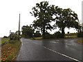 TM0861 : Saxham Street junction by Adrian Cable
