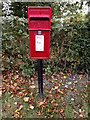 TM0861 : Saxham Street Postbox by Adrian Cable