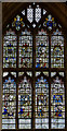 SO7745 : Founders Window, Great Malvern Priory by Julian P Guffogg