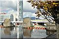 J3474 : The Lagan weir footbridge, Belfast - October 2014(3) by Albert Bridge