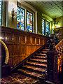 TQ3181 : Stairway, Cutler's Hall, London, EC2 by Christine Matthews