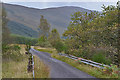 NN2431 : The B8074 crossing the Allt an Fhaing by Nigel Brown