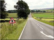 SK1576 : A623 towards Lane Head by David Dixon