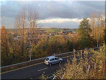 SP0367 : Northwest corner of Ringway, Redditch by Robin Stott