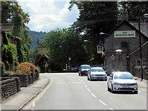 SK2572 : Baslow, Calver Road (The Rutland Arms) by David Dixon