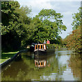 SJ9330 : Trent and Mersey Canal east of Burston, Staffordshire by Roger  Kidd