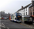 SO5710 : Gloucester bus in Market Place, Coleford by Jaggery