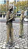 O1634 : Famine Memorial on Custom House Quay by Oliver Dixon