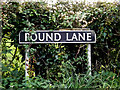 TM3292 : Pound Lane sign by Adrian Cable