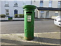 H3398 : Post box, Main Street, Lifford by Kenneth  Allen