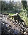 SP0577 : Damage to a footpath after heavy rain, Walkers Heath by Robin Stott