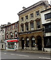 SY6990 : Grade II listed Nationwide building in Dorchester by Jaggery