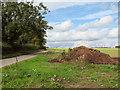 TG2500 : Muck heap beside Chapel Lane by Evelyn Simak