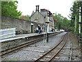 NY7146 : Alston railway station (site), Cumbria by Nigel Thompson