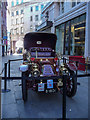 TQ2980 : Veteran Car, Glasshouse Street, London W1 by Christine Matthews