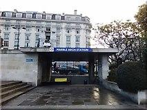 TQ2780 : Marble Arch Underground Station by PAUL FARMER