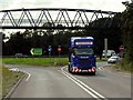 SK8155 : A46 Link to A1 at Newark on Trent, Winthorpe Interchange by David Dixon