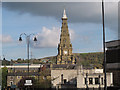 SE0925 : Spire of Halifax Town Hall by Stephen Craven
