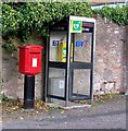 NT9249 : Postbox and phone box by David Chatterton