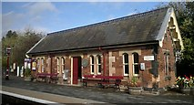 NY6820 : Appleby-in-Westmorland station by Chris Morgan