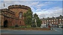 NY4055 : The Citadel and The Crescent, Carlisle. by Chris Morgan