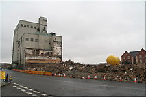 TF3387 : Louth: Goodbye to the Maltings by Chris
