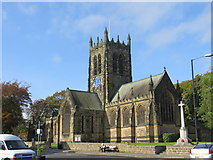 SE3694 : All Saints Church at Northallerton by Peter Wood