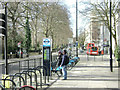 TQ2680 : West on Bayswater Road from near Lancaster Gate, Bayswater by Robin Stott